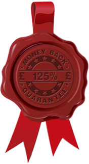 125% Money Back Guarantee