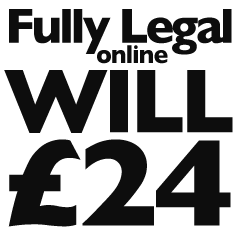 Fully Legal Online Will only £ 24